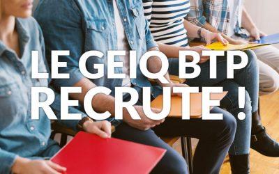 """Le Geiq BTP au Forum : """" Osons nos talents ! """" à Bruay la Buissière"""