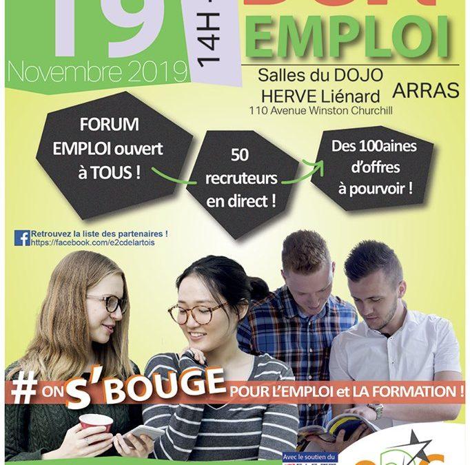 Le Geiq BTP au forum défi Emploi à Arras du 19/11 prochain !