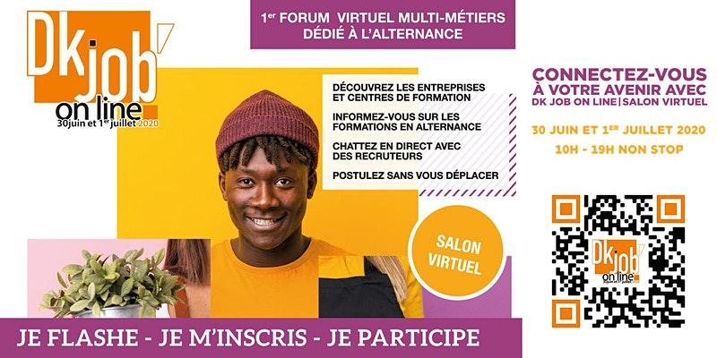 1er forum virtuel multi-métiers dédié à l'aternance