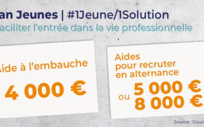 Plan Jeunes : #1Jeune/1Solution !