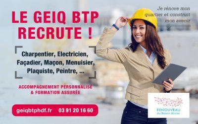ERBM, le Geiq BTP recrute !